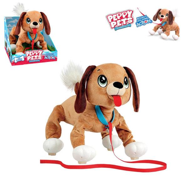 Peppy Pets - Плюшено куче за разходка навън 245277