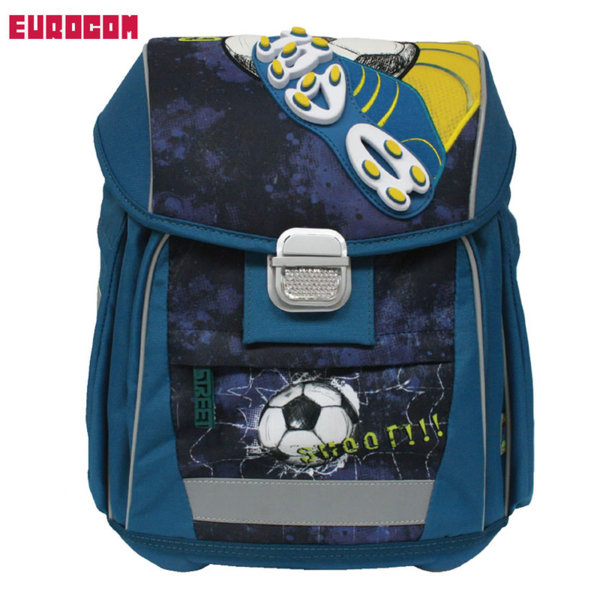 de7a89dd32a Eurocom - Ученическа ергономична раница Street Abc Goal Shoot!!! 228923
