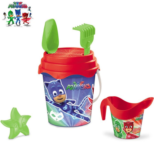Mondo - Детска кофа с формичка и лейка PJ Masks 28284