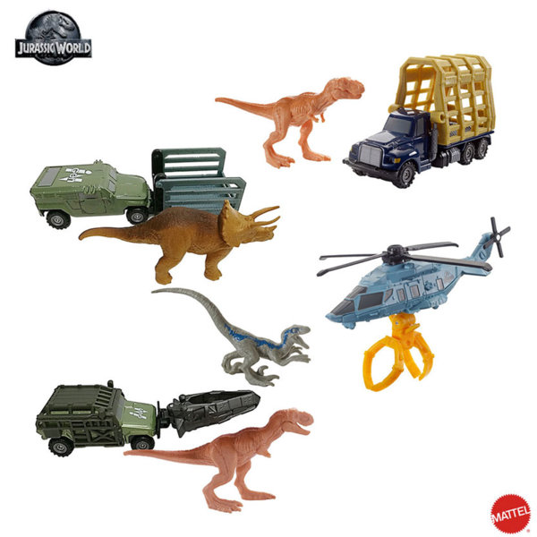 Matchbox Jurassic World - Транспортьор с динозавър FMY31