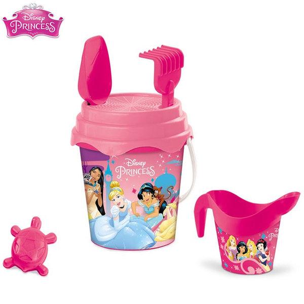 Mondo Disney - Детска кофа с формичка и лейка Дисни Принцеси 28415
