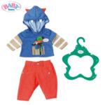 Baby Born - Комплект дрешки за кукла Бейби Борн момче в синьо 824535