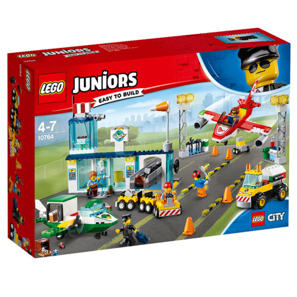 Lego 10764 Juniors City - Централно градско летище