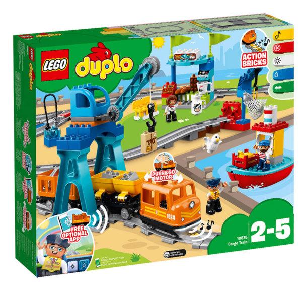 Lego 10875 Duplo - Товарен влак