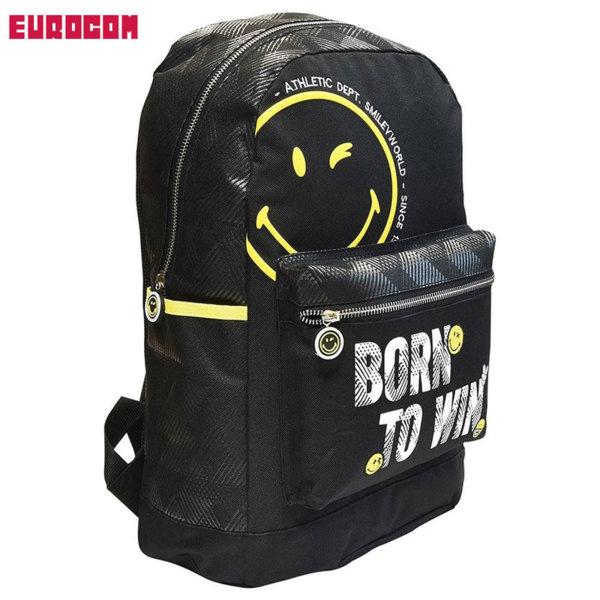 Eurocom - Ученическа раница Smiley Winner 53614