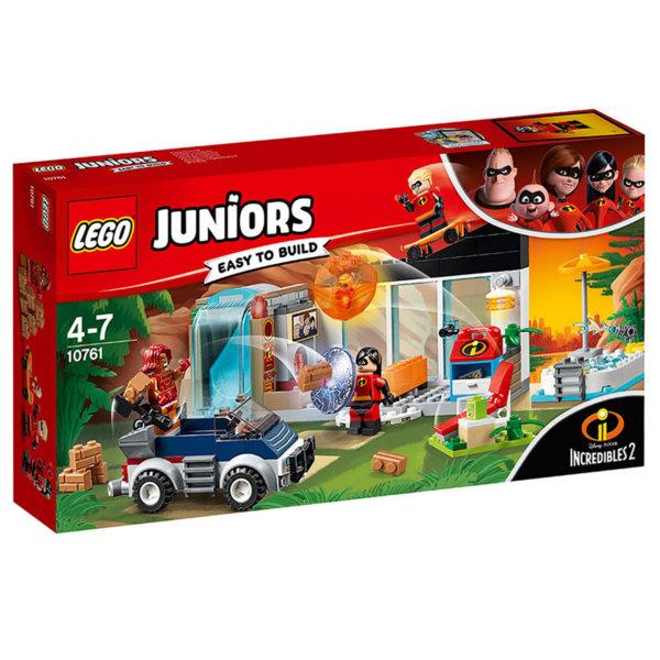 Lego 10761 Juniors Disney The Incredibles - Голямото бягство от дома