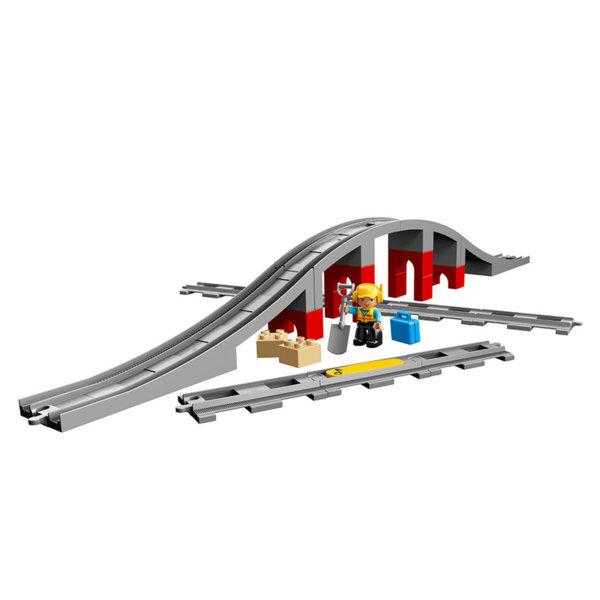 Lego 10872 Duplo - Мост и релси за влак