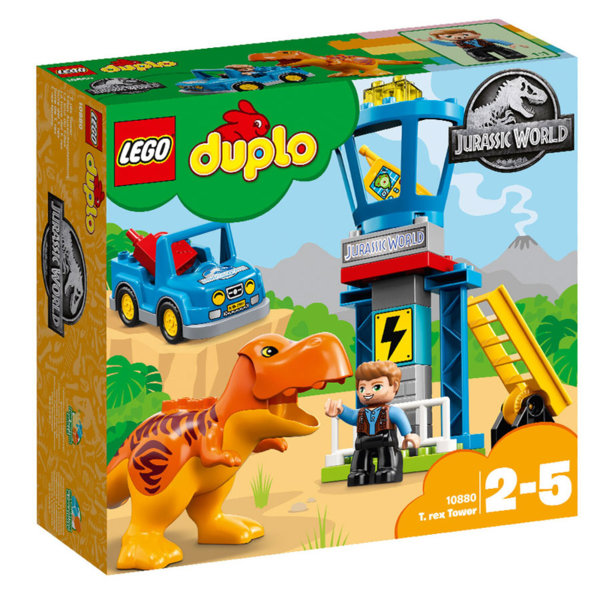 Lego 10880 Duplo Jurassic World - Кула за Тиранозавър Рекс