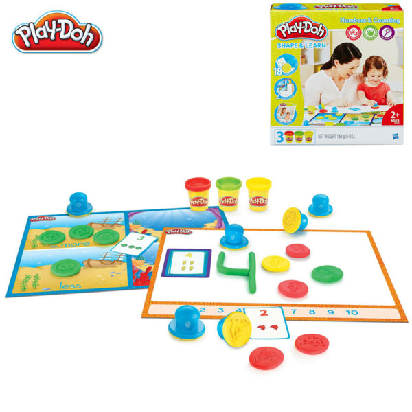 PlayDoh - Комплект пластилин Числа и цифри b3406