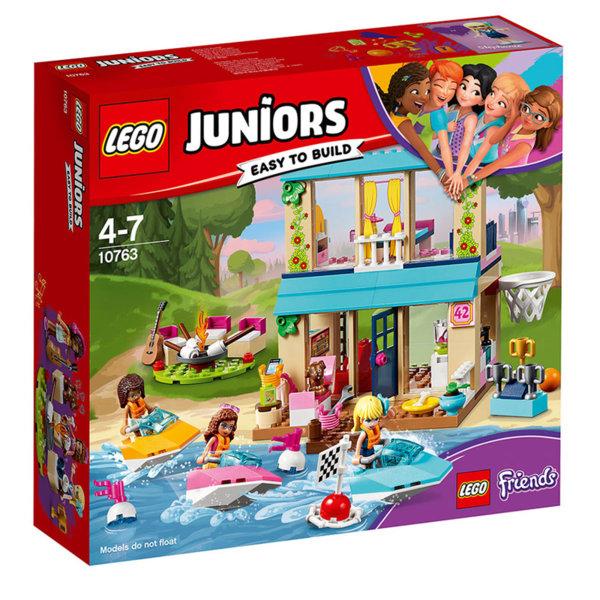 Lego 10763 Juniors Friends - Крайбрежната къща на Стефани