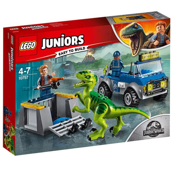 Lego 10757 Juniors Jurassic World - Спасителен камион за раптор