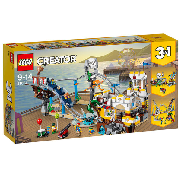 Lego 31084 Creator - Пиратско скоростно влакче