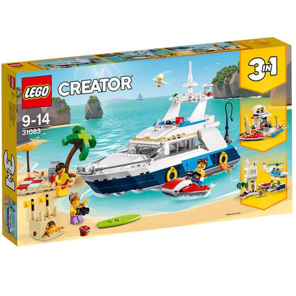 Lego 31083 Creator - Приключения с моторница