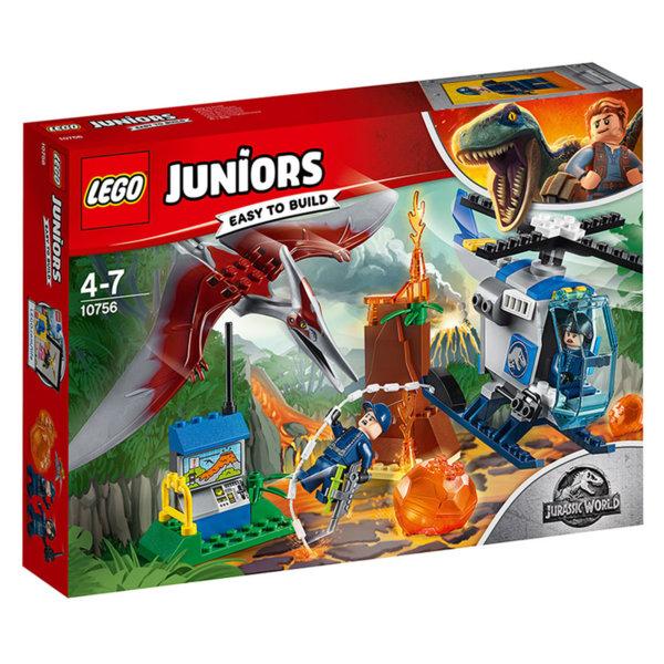 Lego 10756 Juniors Jurassic World - Бягство от птеранодон