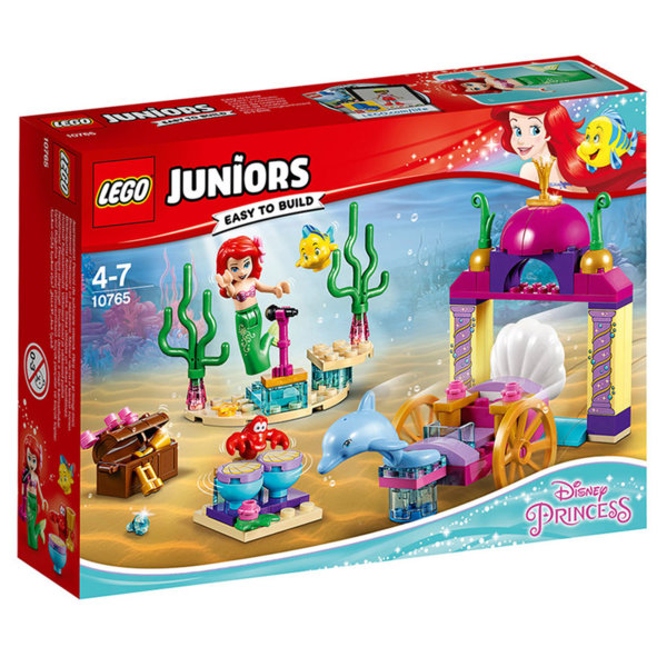 Lego 10765 Juniors Disney Princess - Подводният концерт на Ариел