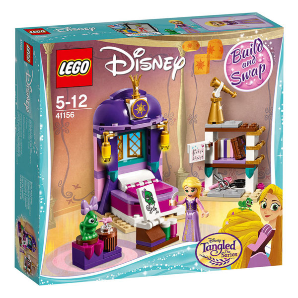 Lego 41156 Disney Princess - Спалнята в замъка на Рапунцел