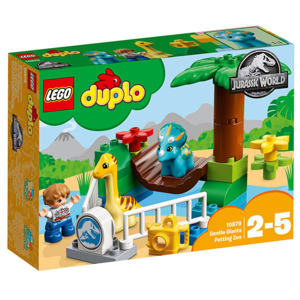 Lego 10879 Duplo Jurassic World - Зоологическа градина за дружелюбни гиганти