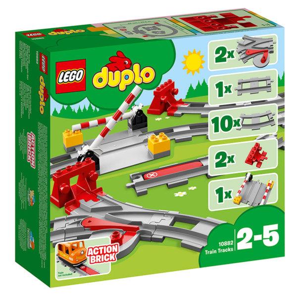 Lego 10882 Duplo - Релси за влак