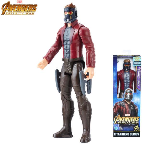 Marvel Avengers - Екшън фигура 30см Стар Лорд Infinity War E0570