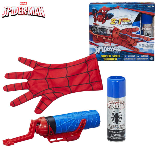 Hasbro - SpiderMan Ръкавица Спайдърмен изстрелваща паяжина 2в1 b9764