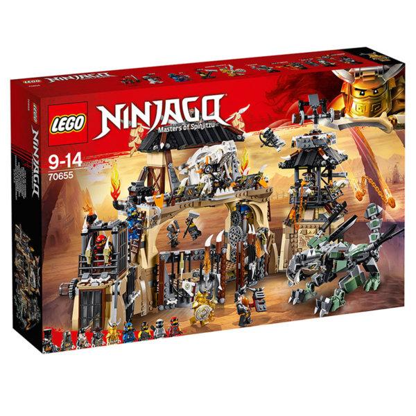 Лего 70655 Нинджаго - Бърлогата на драконите