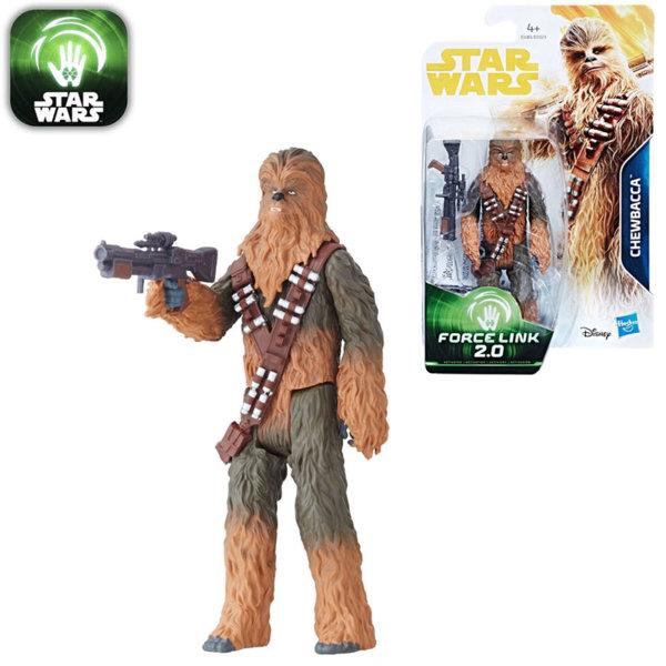Hasbro Star Wars Force Link 2.0 - Екшън фигура Стар Уорс Chewbacca 9.5см e0323