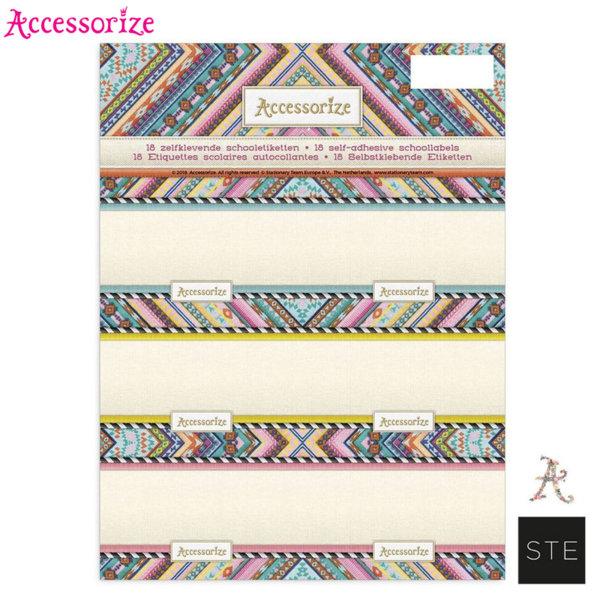 Accessorize Bohemian - Ученически етикети Аксесорайз 01836