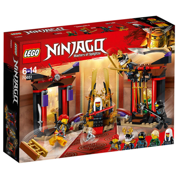 Лего 70651 Нинджаго - Схватка в тронната зала