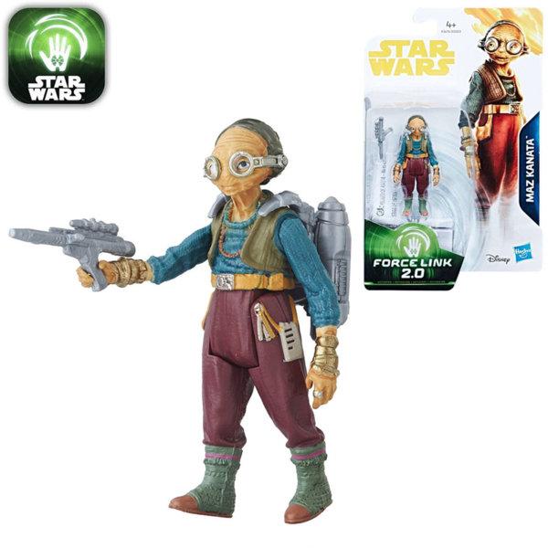 Hasbro Star Wars Force Link 2.0 - Екшън фигура Стар Уорс Maz Kanata 9.5см e0323