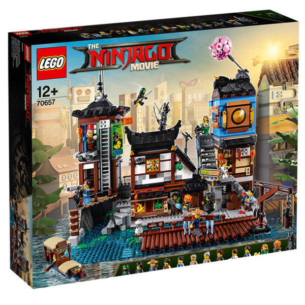 Лего 70657 Нинджаго - Доковете на НИНДЖАГО СИТИ