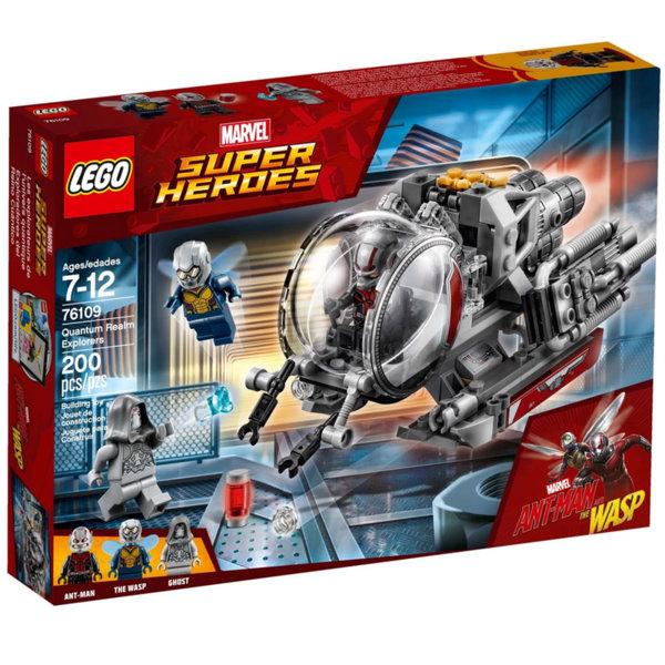 Lego 76109 Super Heroes - Изследователи на Квантовото Измерение