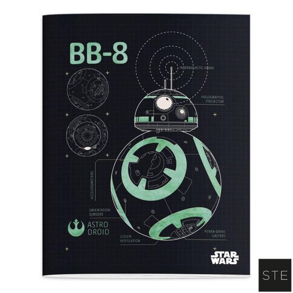 Star Wars - Тетрадка А5 Междузвездни войни 02438