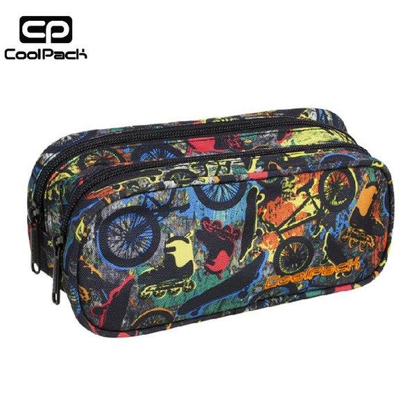 Cool Pack Clever - Ученически несесер 2 ципа Free Style A183