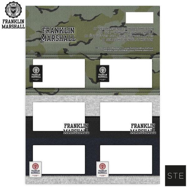 Franklin Marshall Camouflage - Етикети Франклин Маршал 02056