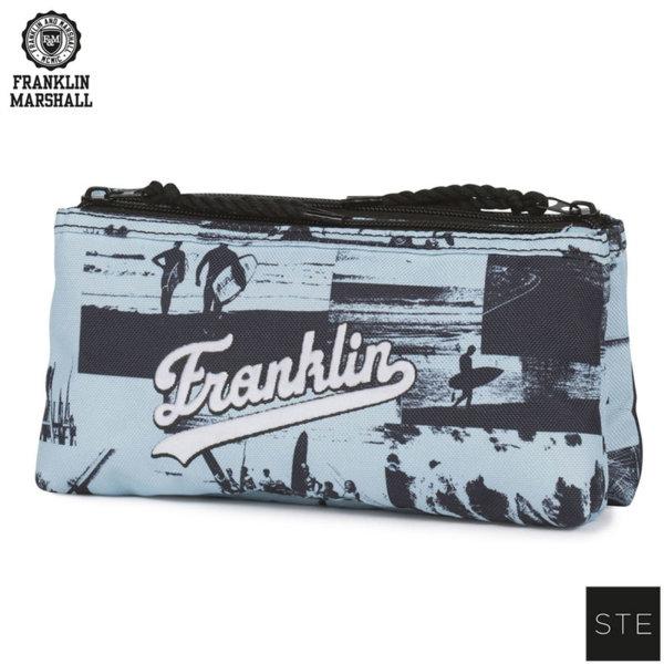 Franklin Marshall California - Ученически несесер двоен Франклин Маршал 00916