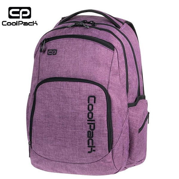 Cool Pack Break Snow - Ученичска раница Snow Purple 850
