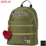 Replay Desert Glam Green - Ученическа раница Риплей 01070