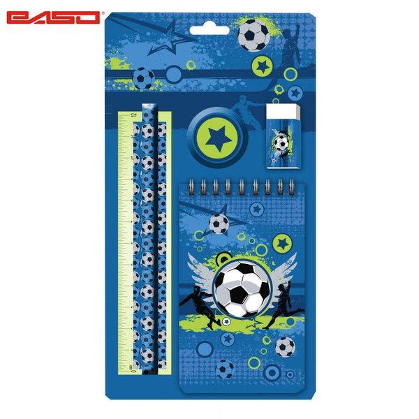 Paso Football Blue - Ученически комплект Футбол 17-3627X