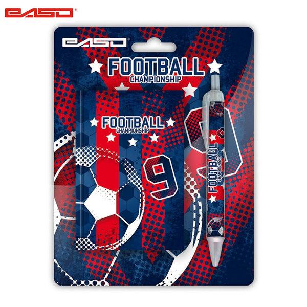 Paso Football - Комплект тефтер и химикалка Футбол 18-3642FL