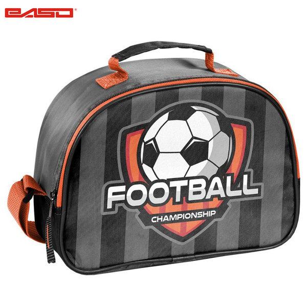 Paso Football Grey - Термо чанта за закуски Футбол 18-684FB