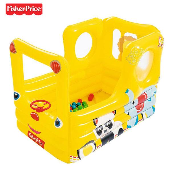 Fisher Price - Надуваем автобус с топки 93506