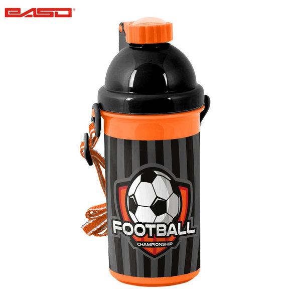 Paso Football Grey - Шише за вода Футбол 18-3021FB