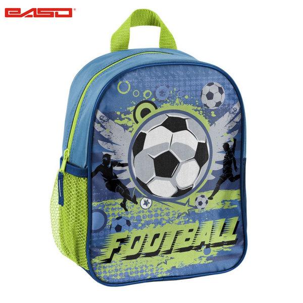 Paso Football Blue - Раница за детска градина Футбол 17-303X