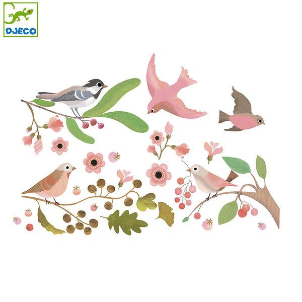 Djeco - Стикери за стъкло Птици DD05052