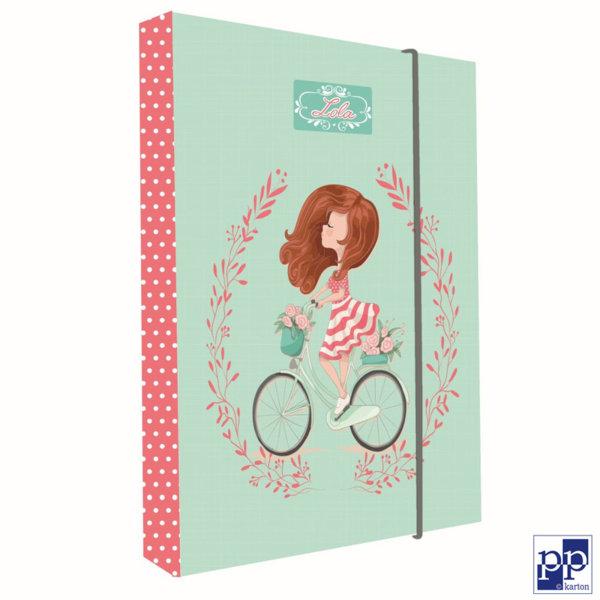 Karton P+P Lola - Папка кутия с ластик 5-70218