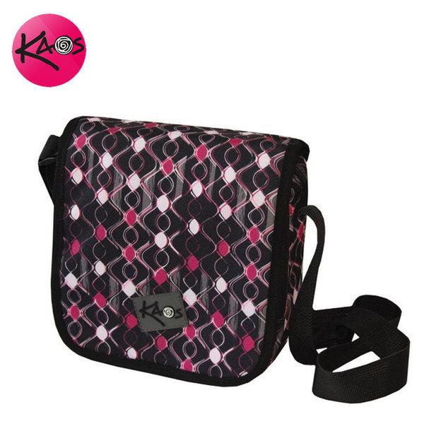 KAOS - Чанта с дълга дръжка през рамо малка Pink waves 21287