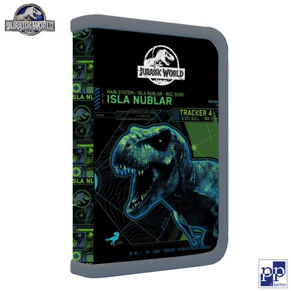 Karton P+P Jurassic World - Ученически несесер с 1 цип, празен 1-54618