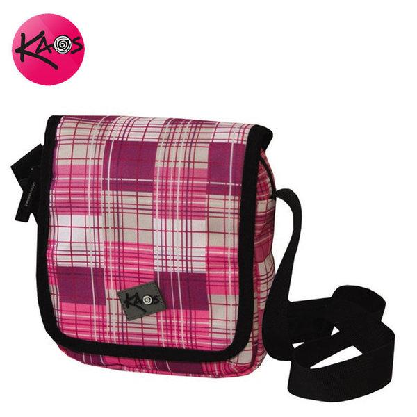 KAOS - Чанта с дълга дръжка през рамо малка Pink Tweed 21276