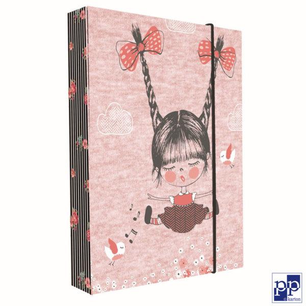 Karton P+P Dolly - Папка кутия с ластик 5-70118