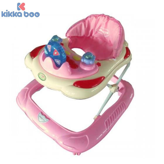 Kikka Boo - Проходилка Numbers Light Pink 31005030024